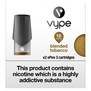 ePen3 Pod - Blended Tobacco-18mg