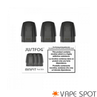 Minifit Replacement Pod By Justfog 3 Pack